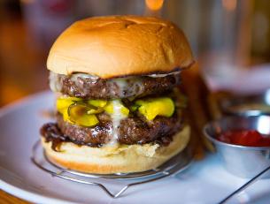 Burger on SS Burger LIft