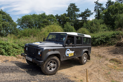 Off roading at the Top Gear Track Experience