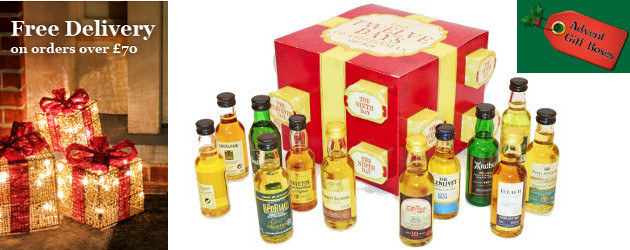 Gift Box Ballymena : Just launched advent calendars for grown ups days of