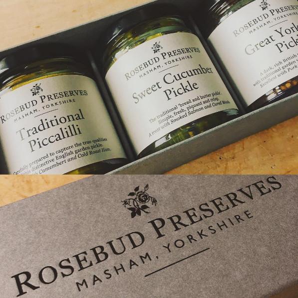Gift Box Ballymena : A gift box full of sweet treats from rosebud preserves for