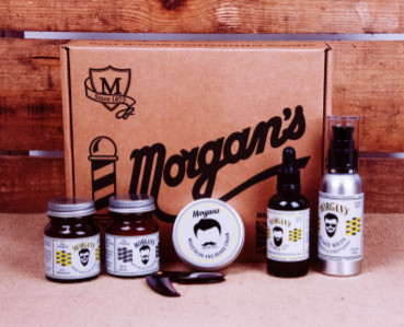 live the beard life morgan s moustache and beard grooming gift box at the chill cabinet. Black Bedroom Furniture Sets. Home Design Ideas