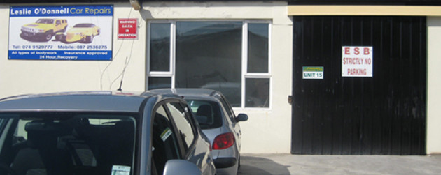 Leslie O Donnell Crash Repairs Letterkenny Pinehill T 074 9129777 Intouch Rugby Axios
