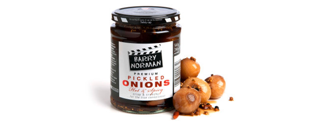 Barry Norman Pickled Onions from a recipe by his Mum! Crisp