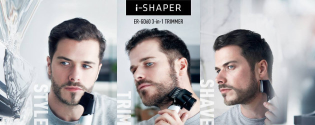 PANASONIC LAUNCHES NEW i-SHAPER ER-GD60 3-IN-1 TRIMMER TO PERSONALISE WITH PRECISION >> www.panasonic.com/uk/ | InTouch Rugby (AXIOS)