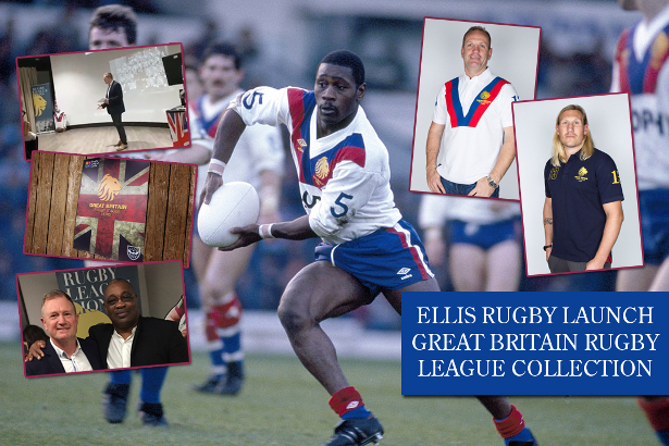 d361e59fe9d ELLIS RUGBY LAUNCH VINTAGE GREAT BRITAIN RUGBY LEAGUE COLLECTION.  www.ellisrugby.com .