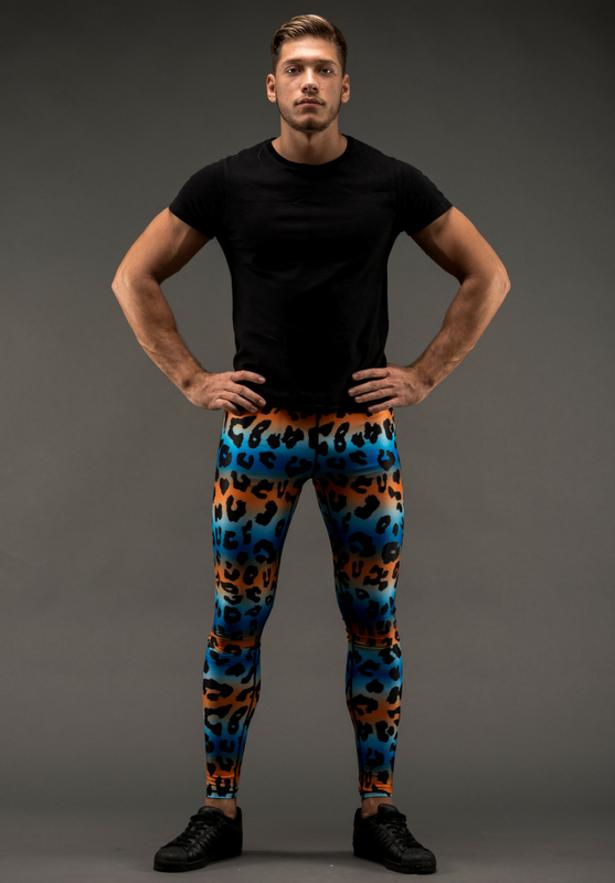 Kapow Meggings Men S Active Wear With A Twist Kick Ass