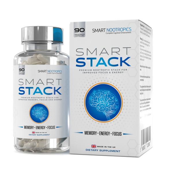 Review Smart Nootropics Premium Stack Improve Focus Memory