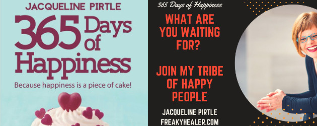 BOOK! Jacqueline Pirtle, 365 Days of Happiness. Because Happiness is a Piece of Cake ! www.freakyhealer.com TWITTER | FACEBOOK | INSTAGRAM| SOUNDCLOUD | YOUTUBE | LINKEDIN Buy at :- www.amazon.com/365-Days-Happiness-Because-happiness […]
