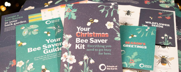 Help bees this Christmas with Friends of the Earth's festive Bee Saver Kit www.friendsearth.uk/christmas-bee-saver-kit www.friendsoftheearth.uk FACEBOOK | INSTAGRAM | TWITTER | PINTEREST | YOUTUBE Britain's bees need a home as […]