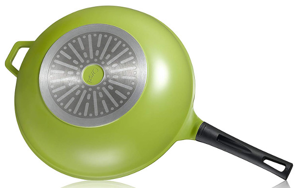 Ozeri 14 Green Earth Wok By With Smooth Ceramic Non