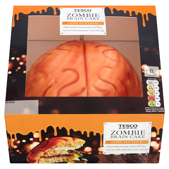 Gruesomely Gooey Cupcakes Edible Zombie Brains And A