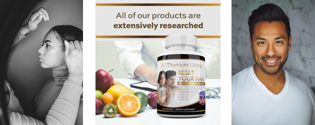 Titanium Reset Your Hair with Biotin, Rosemary Extract, & Other Natural Ingredients – Reverse Hair Loss and Thinning Hair for Women and Men (90 capsules) www.titaniumliving.com FACEBOOK | PINTEREST | […]
