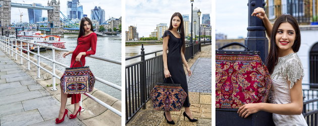 "A Bit Of Mary Poppins Magic! ""Made Of Carpet"" Elegant and absolutely unique Carpet Bags – trendy Renaissance of the 150-year-old Victorian fashion treasure, straight from its homeland – London, […]"