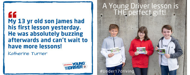 A wheel-y good idea! – 5 to 17-year olds can learn to drive www.youngdriver.com TWITTER | FACEBOOK | INSTAGRAM | YOUTUBE Every youngster dreams of the things they'll be allowed […]