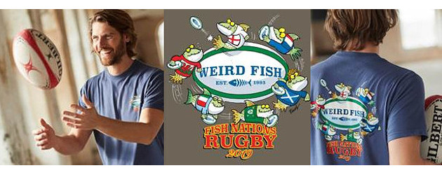 Celebrate the Fish Nations www.weirdfish.co.uk With Six Nations here, Weird Fish clothing has introduced a Fish Nations T-shirt, available in a range of three colours for £20. So whether you […]