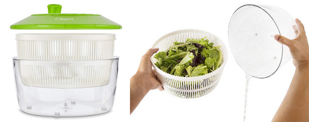 Happy Spring! Salad Time! >> Ozeri Italian Made Fresca salad spinner and serving bowl, BPA free green! On Amazon! Exclusively made in Italy to exacting standards to deliver frictionless perfection […]