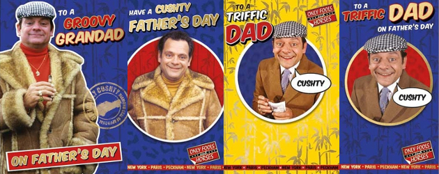 This time next Father's Day, we'll all be Millionaires! Whether your Dad's 'Lovely Jubbly', 'Cushty' or 'Triffic', Danilo has just the card for your Peckham Pop this Father's Day >> […]