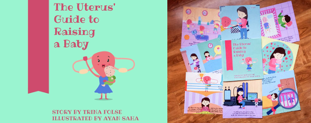 """""""The Uterus' Guide to Raising a Baby"""" byTrina Folse! INSTAGRAM 