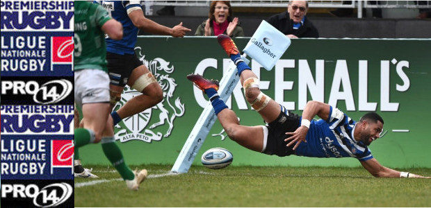 CLICK HERE for Gallagher English Premiership CLICK HERE for French Top 14 CLICK HERE for Pro 14