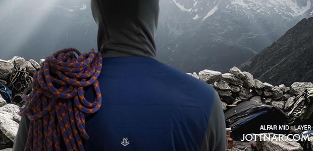 www.jottnar.com FACEBOOK   TWITTER   INSTAGRAM   YOUTUBE Tough, reliable, focused. The Alfar is a no-nonsense mid-layer, with the same qualities that you'd choose in a climbing partner. https://www.jottnar.com/…/produ…/alfar-mens-mid-layer-jacket