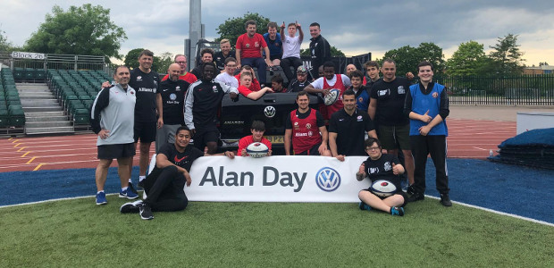 SARACENS RUGBY STARS GIVE BACK TO THE COMMUNITY A trio of England International rugby stars took part in a special end of season training session at Allianz Park for children […]