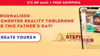 MAKE THIS FATHER'S DAY EXTRA PERSONAL WITH TOBLERONE www.mytoblerone.co.uk FACEBOOK   TWITTER   INSTAGRAM Whether your dad is a chocolate fiend or a nougat fanatic, Toblerone has the gift for […]