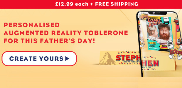 MAKE THIS FATHER'S DAY EXTRA PERSONAL WITH TOBLERONE www.mytoblerone.co.uk FACEBOOK | TWITTER | INSTAGRAM Whether your dad is a chocolate fiend or a nougat fanatic, Toblerone has the gift for […]