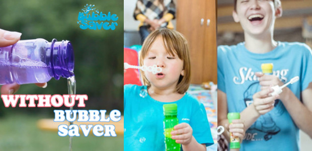 www.bubblesaver.com FACEBOOK | TWITTER | LINKEDIN | INSTAGRAM Get more fun out of your bubble parties by stopping the magic bubble recipe from spilling while you play. Even plan a […]