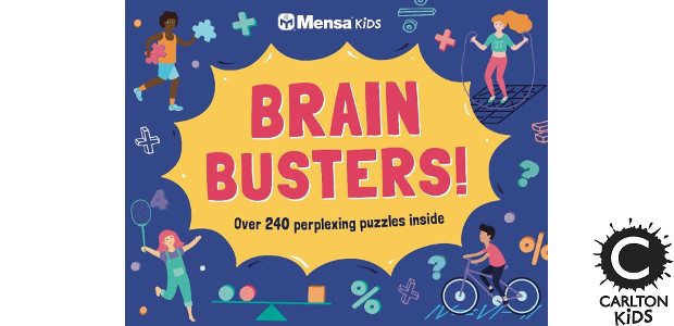 BRAIN BUSTERS! This is a puzzle extravaganza! By Mensa >> www.carltonkids.co.uk FACEBOOK | TWITTER | INSTAGRAM | YOUTUBE This is a puzzle extravaganza! This landscape book is packed with brilliant, […]