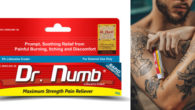 www.drnumb.com FACEBOOK   TWITTER   INSTAGRAM Dr.Numb, the leading topical anesthetic cream brand, joins the celebration of Tattoo Art this July 17th. For over a decade, Dr.Numb is being a […]