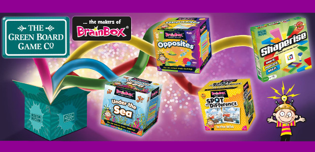 www.brainbox.co.uk TWITTER | FACEBOOK | PINTEREST | YOUTUBE The fabulous BrainBox range offers so much fun for all the family! From family board games to the original BrainBox memory games […]