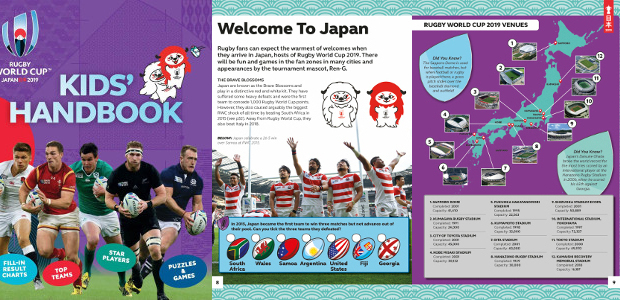 RUGBY WORLD CUP 2019 TM KIDS' HANDBOOKBy Clive Gifford www.carltonkids.co.uk FACEBOOK   TWITTER   INSTAGRAM   YOUTUBE The only official children's companion to Rugby World Cup 2019™, which kicks off […]