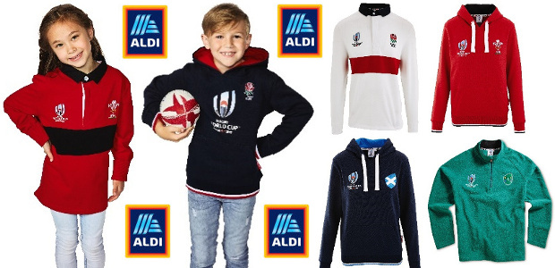 GIVE ALDI'S RUGBY RANGE A TRY www.aldi.co.uk YOUTUBE | TWITTER | PINTEREST | FACEBOOK | INSTAGRAM Rugger fans rejoice! Get ready for the world cup with Aldi's latest sportswear range. […]