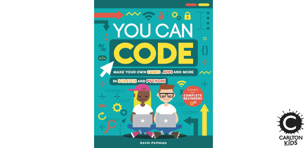 BOOK! Available Now ! YOU CAN CODE Author Kevin Pettman >> www.carltonkids.co.uk FACEBOOK | TWITTER | INSTAGRAM | YOUTUBE BOOK! Available Now ! YOU CAN CODE Author Kevin Pettman >> […]