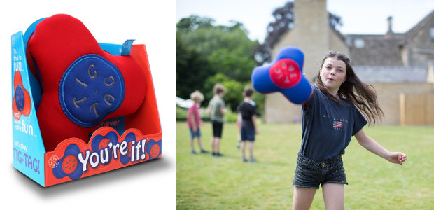 TIG-TAG®You're it!The HOT new outdoor toy this summer www.tig-tag.co.uk TWITTER | FACEBOOK TIG-TAG® is an exciting new outdoor game designed to get the whole family up and playing together. Mum, […]