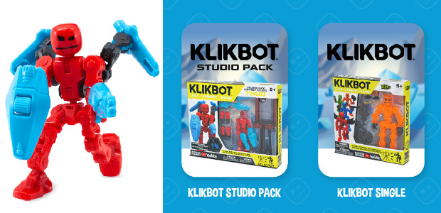 stikbot.toys/where-to-buy-klikbot/ YOUTUBE   INSTAGRAM   TWITTER   FACEBOOK   SNAPCHAT  KlikBots are an imaginative extension of popular Stikbot brand of figures that integrates stop-motion animation into the play, thanks […]