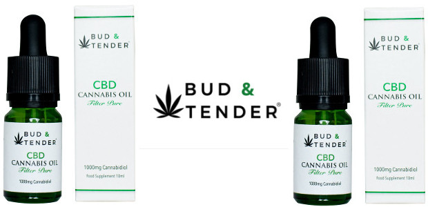 BUD & TENDER 1000mg, THC & CBN Free. Their Filter-Pure CBD Cannabis Oil has a gorgeous fresh fruity floral taste that's 100% natural. Recently rated by the Evening Standard as […]