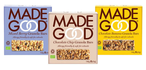 Perfect For Back To School! THE FIRST EVER SAFE FOR SCHOOLS SNACK BAR FACEBOOK | TWITTER | INSTAGRAM | LINKEDIN MadeGood® are allergy friendly, organic, vegan, granola bar 'Safe for […]
