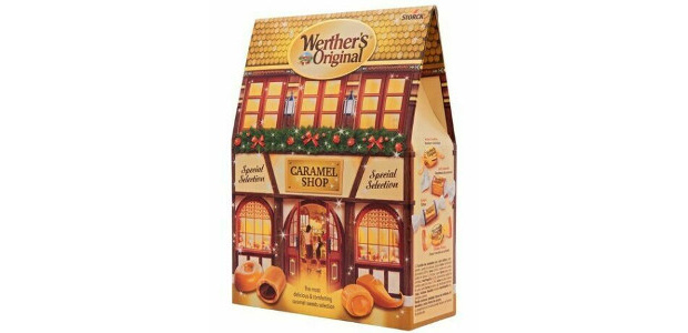 Werther's Original Christmas Caramel Shop Box www.werthers-original.co.uk Containing a variety of warm and comforting Werther's caramels including, Butter Candies, Creamy Filling, Éclairs and Soft Caramel, the product provides something for […]
