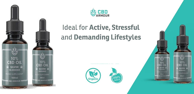 CBD ARMOUR – 10% CBD OIL — SILVER 10,000MG. Ideal for Active, Stressful and Demanding Lifestyles. www.cbdarmour.co.uk FACEBOOK | TWITTER | YOUTUBE | INSTAGRAM DID YOU KNOW❓ . Our 10% […]