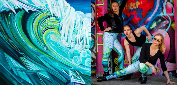 www.barbaraferrier.com  FACEBOOK | INSTAGRAM | YOUTUBE Soaring Frog apparel, is a clothing design company. It began when Stuart designed leggings based on his wife Barbara's paintings. The video, another […]