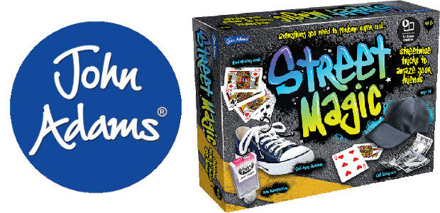 Have an incredible Halloween with 'Street Magic' by John Adams >> It includes everything you need to perform super cool magic! www.johnadams.co.uk TWITTER | YOUTUBE | INSTAGRAM Street Magic AGE […]