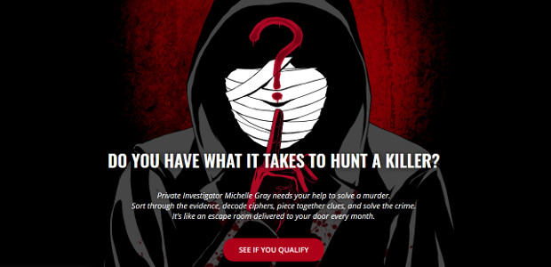 Subscription Game >> Hunt A Killer.. Hunt A Killer delivers an ongoing murder mystery game every month.. ! www.huntakiller.com FACEBOOK | TWITTER | INSTAGRAM Hunt A Killer.. Hunt A Killer […]