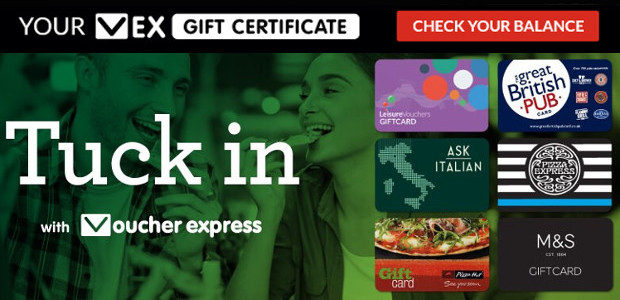 www.voucherexpress.co.uk TWITTER | FACEBOOK www.voucherexpress.co.uk is recognised as the UK's leading online distributor of Gift Vouchers and Gift Cards. Visit www.vexcorporate.co.uk for businesses For example the VEX Gift Certificate, allows […]
