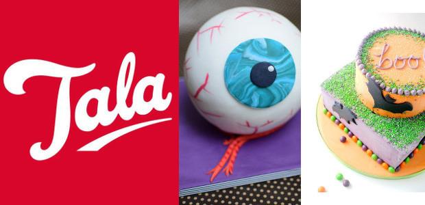 Tala Recipes: Eyeball Cake . Pumpkin Cake . Halloween Ginger Cake ! www.talacooking.com FACEBOOOK | TWITTER | PINTEREST | YOUTUBE | INSTAGRAM Tala Eyeball Cake > www.talacooking.com/articles/eyeball-cake.htm Halloween Ginger Cake […]