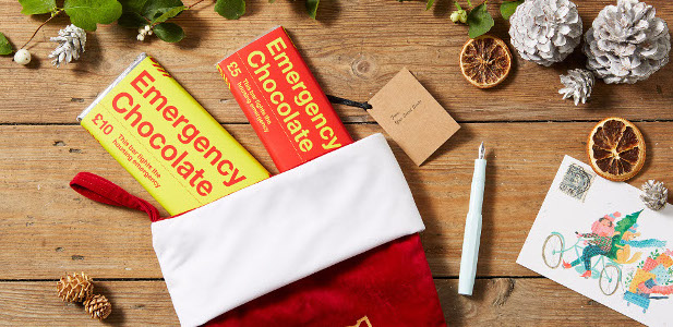 Shelter launches 'Emergency Chocolate' range so shoppers can help fight the housing emergency this Christmas > www.shelter.org.uk/chocolate With 320,000 people in Britain currently without a home, the country's leading housing […]