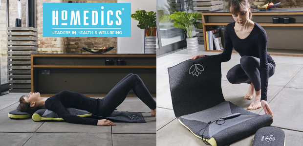 HoMedics, where wellbeing and technology come together. Let's make your house a home: www.homedics.co.uk FACEBOOK | TWITTER | INSTAGRAM | YOUTUBE STRETCH XS – Back Stretching Mat STRETCH XS – […]