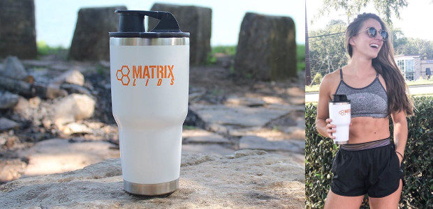 www.matrixlids.com FACEBOOK | INSTAGRAM Conquer your workout or explore the great outdoors with the Matrix Lid. The rubber seal and snapfit cap Spill-Proofs any stainless steel tumbler, while the mixing […]
