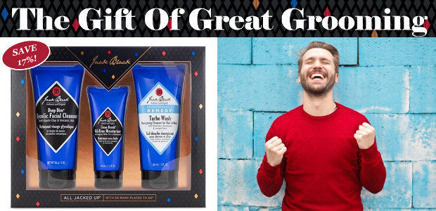 Get the man in your life all kitted out to looking and feeling head to toe grooming great with the NEW Jack Black All Jacked Up! Jack Black All Jacked […]