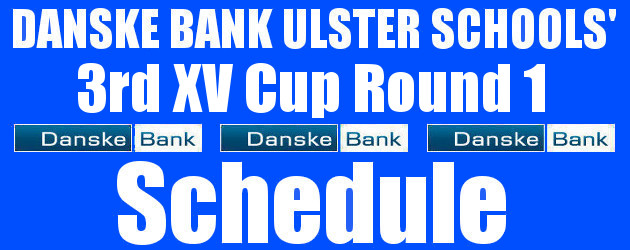 Danske Bank Ulster Schools' 3rd XV Cup Round 1 Draw Tuesday 5th November 2019 To follow INTOUCH RUGBY on Facebook CLICK HERE to Follow InTouch Schools & Clubs Rugby in […]